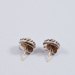 David Yurman Jewelry - David Yurman Classic Cable Cookie/Disc Earrings
